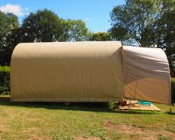 Camping Le Bois Jahan  - Arcisses - Hébergements - Coco Sweet deux personnes